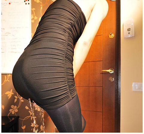 Pantyhose peeing Women in